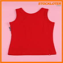 Comfortable Style Girls Cotton Camisole Stock Ready To Ship
