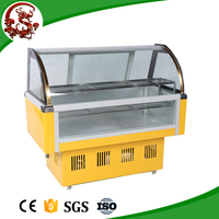 Promotional mini fridge parts for meat with front window