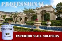 2015 Crystone Decorative Arts Stone Spray Exterior Wall Building Coating