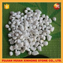 White polish pebble wash stone for home decoration