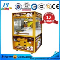 CY-TM18 toy vending machine chocolate crane machine hot sale candy crane machine