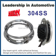 NSSC New Product 7'' round stainless steel brackets for 2007 motorcycles NS-LB38