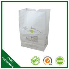 Super quality export fast food paper bag anti oil