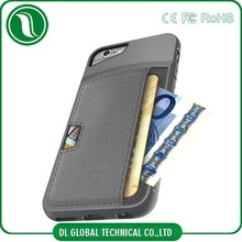 Ultra Thin Slim Fit Card Slot Leather Phone Cover For iPhone 6 PU Leather Case Skin
