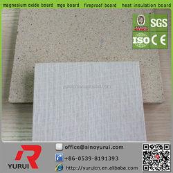 Fireproof mgo board hpl natural