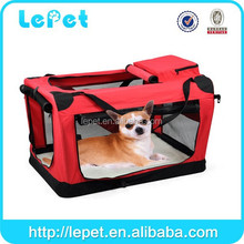 Foldable folding pet carrier plastic pet bag carrier pet bag carrier