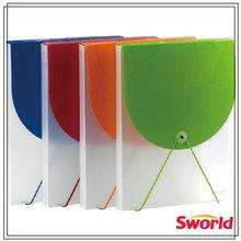 2014 new design of plastic pp document / file folder box case