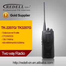 calidad de la radio de máximo de dos TK2207 /3207