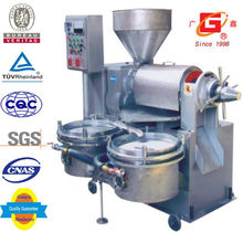 High efficiency Automatic heating and filter combined cotton seeds oil press
