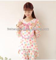 spring design eco friendly sexy sleepwear for women AK091