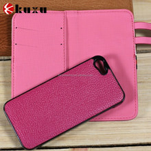 Fashion crazy luxury original smart PU leather case for iphone