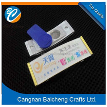 3d magnetic led flashing name badge of wonderful design by our team work can supplies you an excellent product for your clients