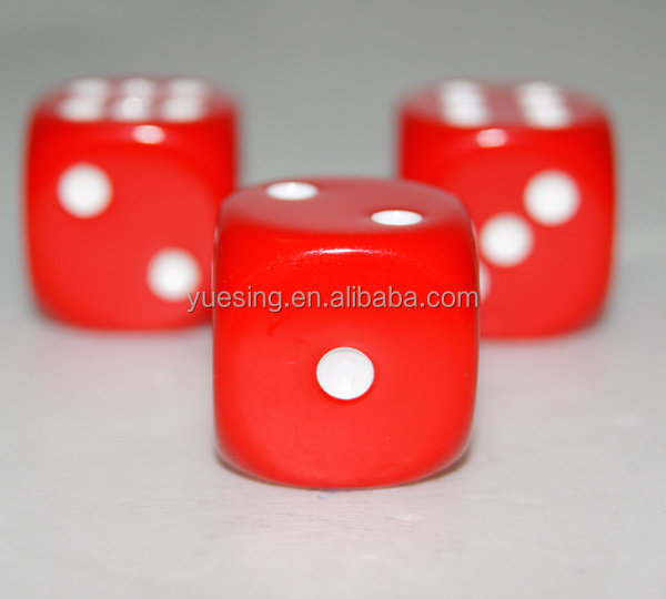 Dice Different Colored