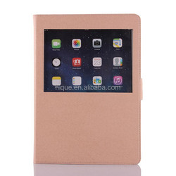 TPU Stand Matched Colors Case for iPad 2 Cover with Credit Cards Slots and Magenet Closure