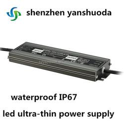 80w vu duo power supply led ultra-thin power supply waterproof IP67 new product