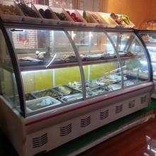supermercato commerciale freezer aperto isola top utilizzati display freezer