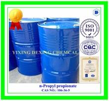 n-Propyl propionate, propylester, Propyl ester of propanoic acid, 106-36-5