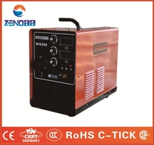 China igbt dc mig welding 160\200\250 amps, portable mig mag welding machine