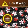 LK tradition style tung blossom printed fabric printed dress material patterns