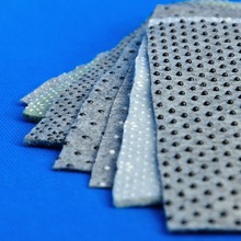 Printed Pattern Dot Style and Needle Punched Nonwoven Technics Carpet Felt Fabric