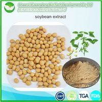 100% natural soy isoflavone powder soybean extract