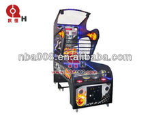 Funny coin operated street electronic basketball games