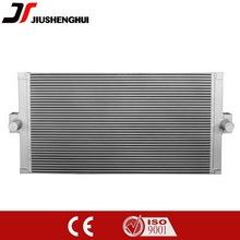 Aluminio intercambiador de placas soldadas