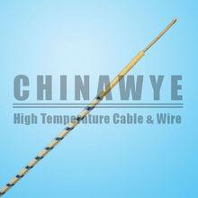 350C High temperature nickel core fiberglass lappings wire