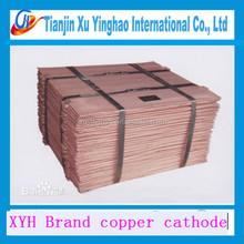 Eletrolítico catodo de cobre 99.99% grau a / preço / folha de cobre de cobre limpo