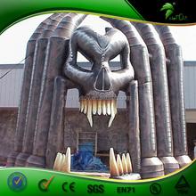 Crazy Inflatable vampire arch door for halloween event