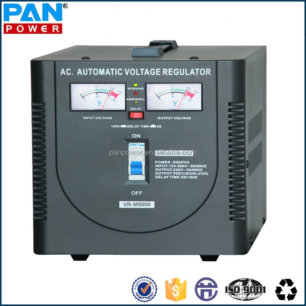 5kva 220v Automatic Single Phase Voltage Regulator