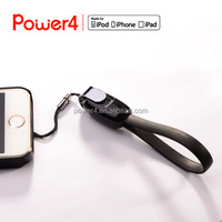 MFi Certified Cable Keychain USB Sync and Charge Portable Short Cable
