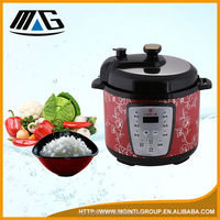 colorful electric steamboat new designed pressure rice cooker with popcorn mid inner wall
