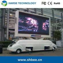 P10 led truck/ mobile led advertising vehicles/ movable led display truck