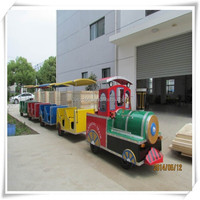 Fwulong Tourist Road Train with Diesel Engine