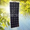 High efficiency SunPower flexible thin film solar panel, semi flexible solar panel 135W