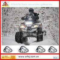 ATV conversion system kits/PICKUP TRUCK track kits/ atv rubber track system provide