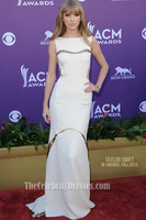 Celebrity Inspired 2012 Academy Country Music Awards Prom Dress 2012
