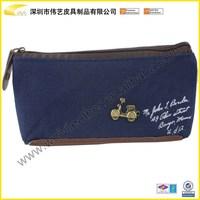 BST-BTS008 Promotional Hardcover Fashion Cheap Durable Custom PU Leather Pen Holder Pencil Case Korean School Pen Case
