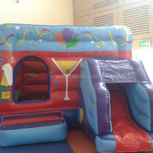 Front on Side Combi /inflatable bouncy castle