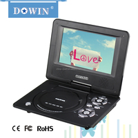 China HOT MINI LCD LED portable dvd player with USB manufacture wholesale home video player