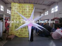 2011 newly designed LED decoration inflatable star for pary/wedding/stage/nighclub decoration