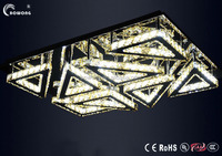 simplicity modern led chandeliers,wrought led chandeliers lights,crystal flush led chandeliers