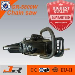 2015 new gasoline chain saw 5800