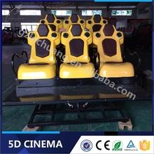 Guangzhou Lechuang Factory Offer 6/8/9/12 Seats 5D Theater Manufacture