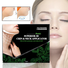 Neutriherbs Disposable Cosmetic Applicator hot in USA 3D Chin & Neck Slimming Face Mask