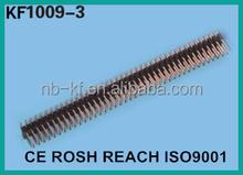 2.54mm triple row pin header 3*40 pin header 3 row pin header