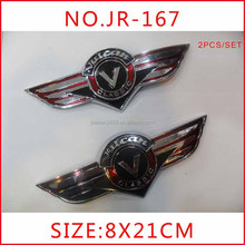 Fuel Gas Tank Left/Right Badge Emblem Decal Sticker For Kawasaki Vulcan Classic, tank pad sticker, sticker for motorcycle