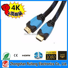 double ended hdmi cable with gold plated high speed support 2.0v