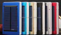 2015 hot sale, top quality solar power bank 10000mah for iphone ipad
